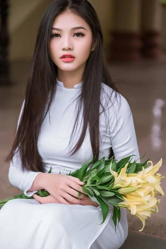 Thi sinh Miss Teen tung anh ao dai dep me man