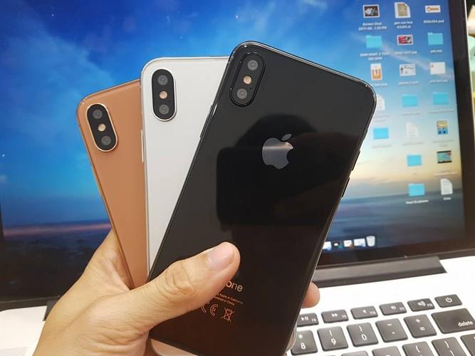 iPhone 8 xuat hien o VN: Bo nut Home, khong vien man hinh