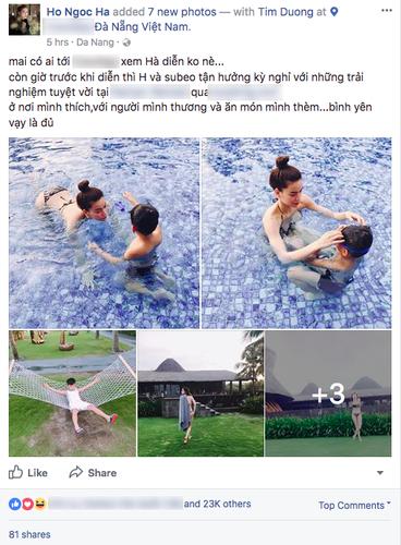 Fan tung bang chung khang dinh Kim Ly - Ha Ho di nghi duong cung nhau-Hinh-4