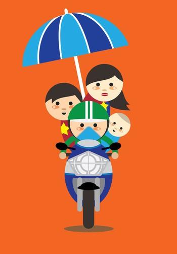 An tuong nguoi Viet cho ke sinh nhai tren chiec xe be nho-Hinh-7