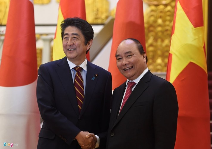 Anh: Le don Thu tuong Nhat Ban Shinzo Abe toi tham Viet Nam-Hinh-6