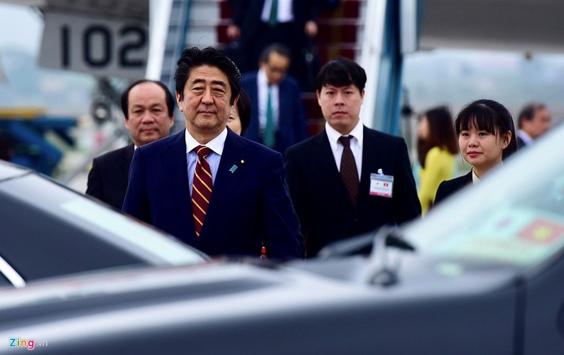 Anh: Le don Thu tuong Nhat Ban Shinzo Abe toi tham Viet Nam