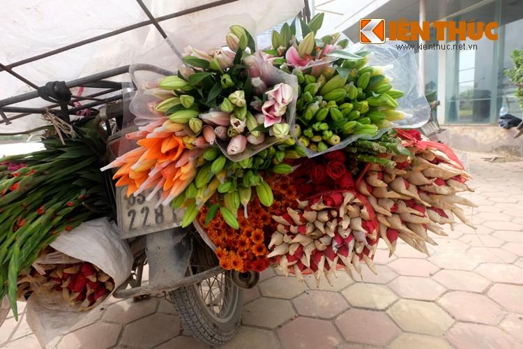 Anh: Tet ve tren nhung xe cho dao rong tren pho Ha Noi-Hinh-16