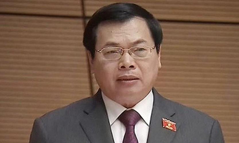 Xoa tu cach nguyen Bo truong Cong Thuong doi voi ong Vu Huy Hoang