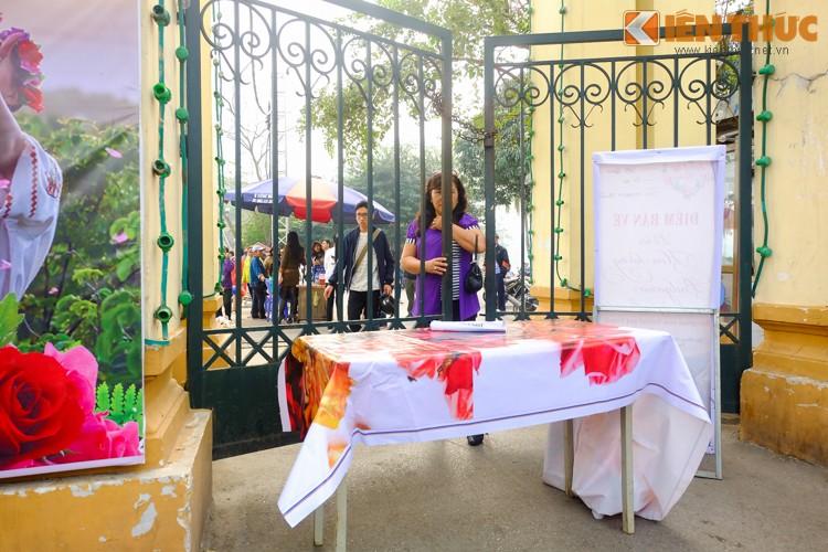 Ha Noi: Nguoi dan va vat cho xem Le hoi hoa hong Bulgaria-Hinh-11