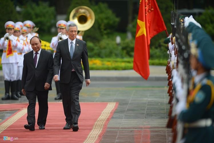 Anh: Thu tuong Nguyen Xuan Phuc tiep Thu tuong Singapore Ly Hien Long-Hinh-2