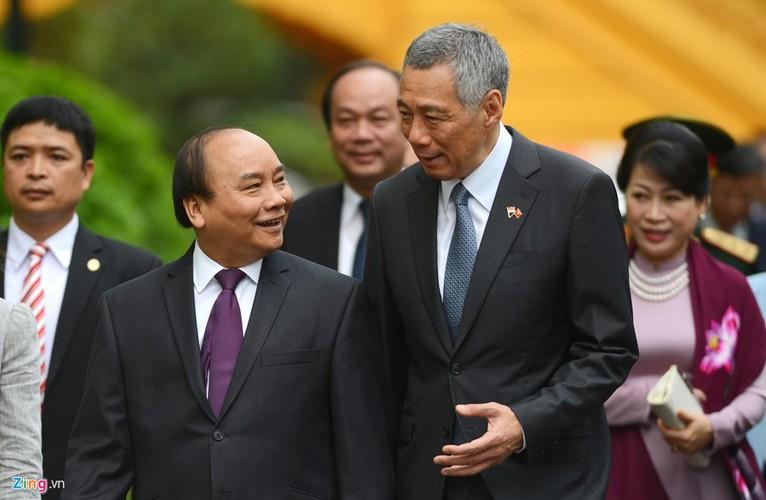 Anh: Thu tuong Nguyen Xuan Phuc tiep Thu tuong Singapore Ly Hien Long-Hinh-3