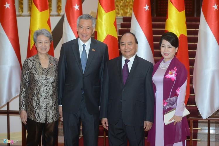 Anh: Thu tuong Nguyen Xuan Phuc tiep Thu tuong Singapore Ly Hien Long-Hinh-4