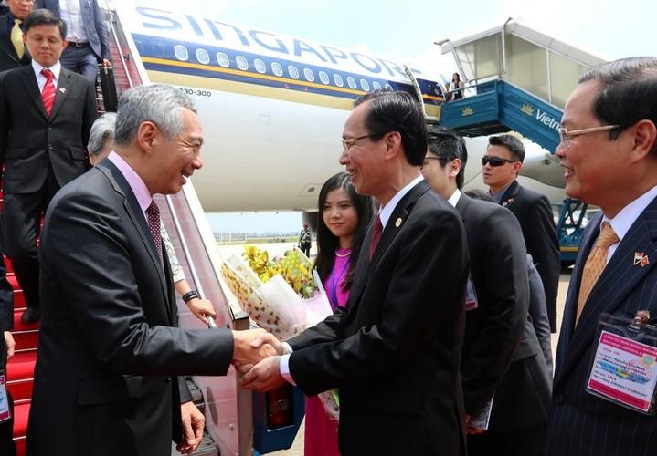 Anh: Thu tuong Nguyen Xuan Phuc tiep Thu tuong Singapore Ly Hien Long-Hinh-6