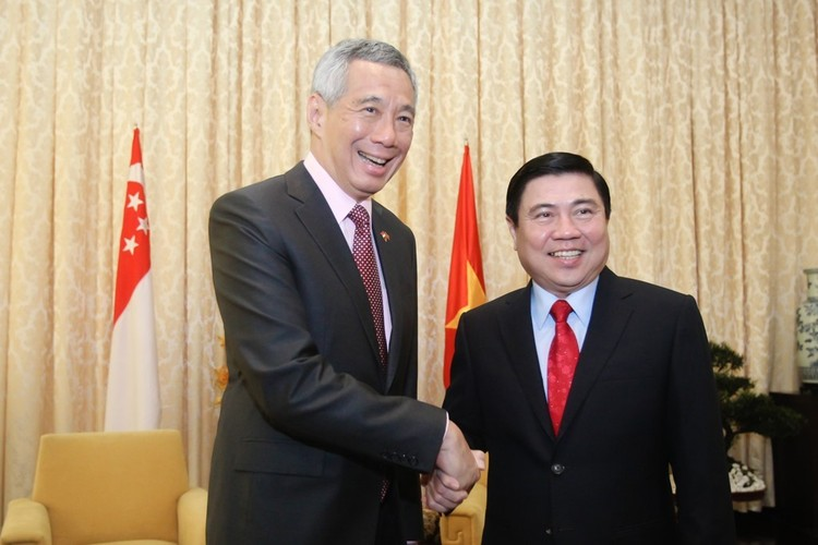 Anh: Thu tuong Nguyen Xuan Phuc tiep Thu tuong Singapore Ly Hien Long-Hinh-7