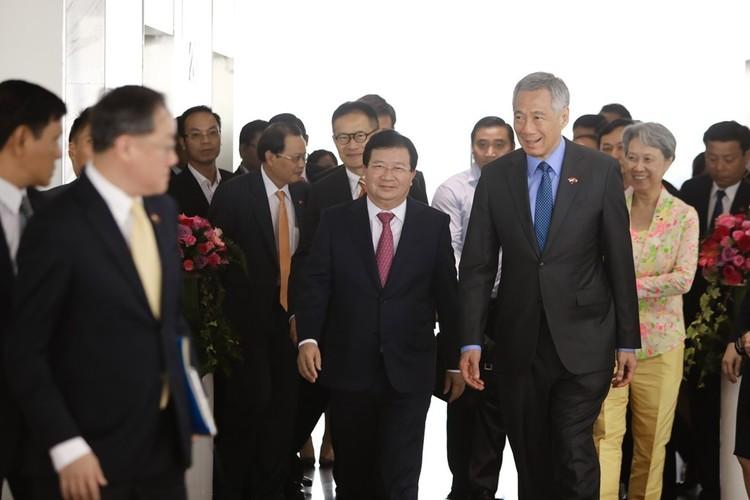 Anh: Thu tuong Nguyen Xuan Phuc tiep Thu tuong Singapore Ly Hien Long-Hinh-8