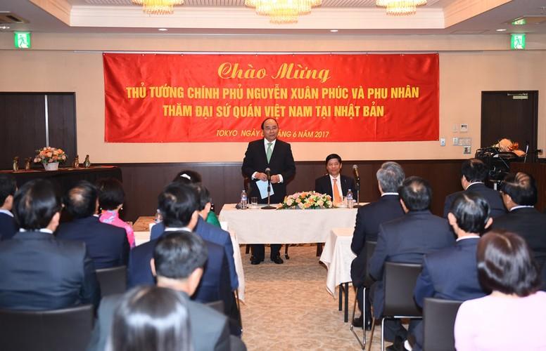 Anh: 3 ngay Thu tuong Nguyen Xuan Phuc tham Nhat Ban-Hinh-4