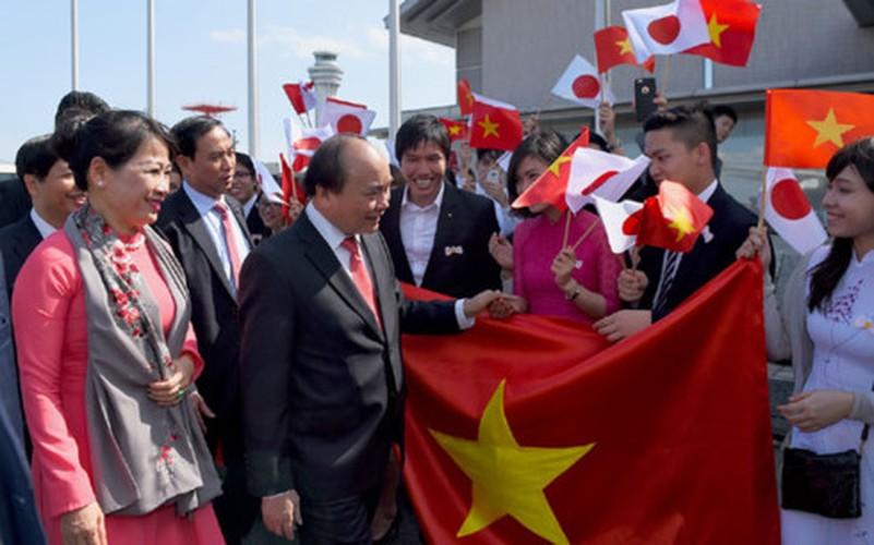 Anh: 3 ngay Thu tuong Nguyen Xuan Phuc tham Nhat Ban