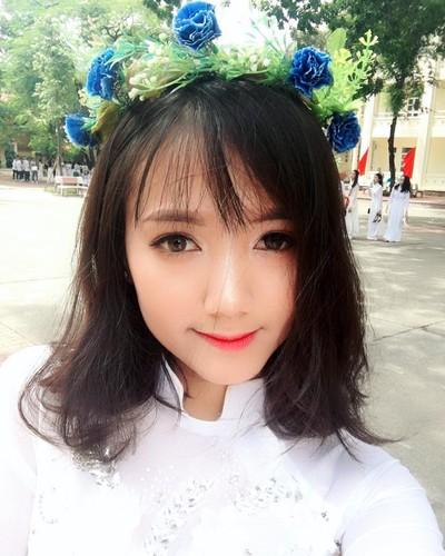 Nhung nu sinh xinh dep hut hon nhat mua khai giang 2017-Hinh-3