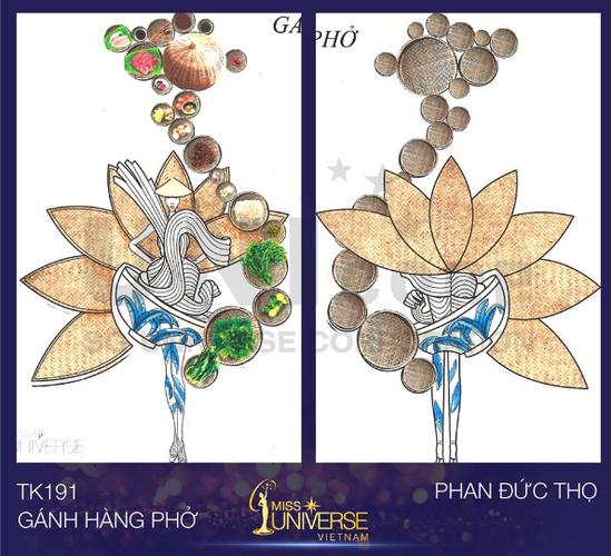 9X thiet ke trang phuc tu banh mi cho Hoa hau Hoan vu-Hinh-3