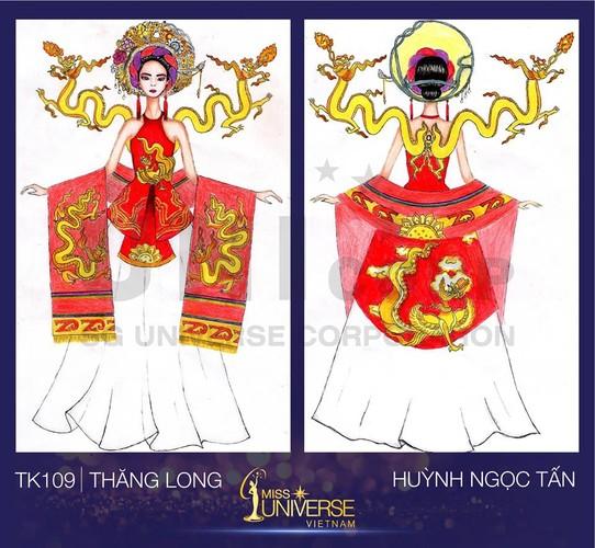 9X thiet ke trang phuc tu banh mi cho Hoa hau Hoan vu-Hinh-6