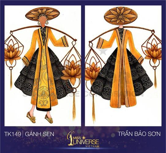 9X thiet ke trang phuc tu banh mi cho Hoa hau Hoan vu-Hinh-9