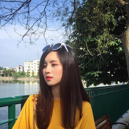 "Nguoi dep Yen Bai co ""goc nghieng than thanh"" cuc giong Tam Tit"