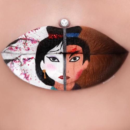 Me man phong cach make-up ma thuat bien doi moi thanh buc tranh-Hinh-2