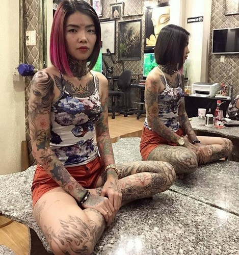 Cuoc song hien tai cua hot girl xam tro tung gay bao mang-Hinh-9
