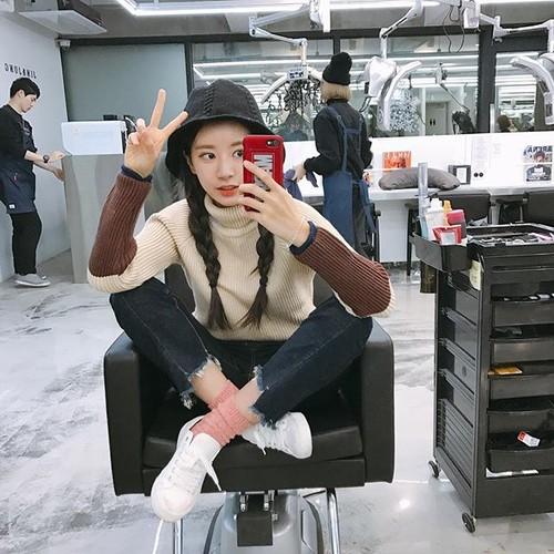 Co nang stylist toc xinh dep nhu sao Han Quoc-Hinh-2