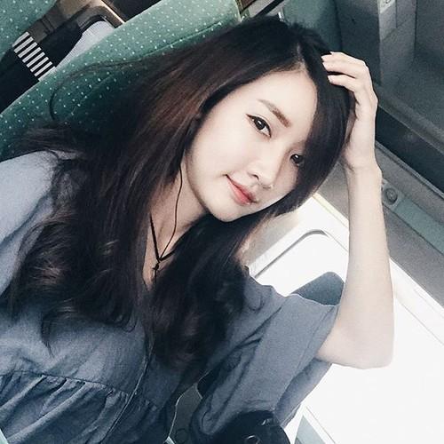 """Dung hinh"" truoc nhan sac hot girl Lao xinh dien dao-Hinh-5"