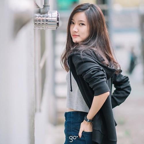 """Dung hinh"" truoc nhan sac hot girl Lao xinh dien dao-Hinh-7"