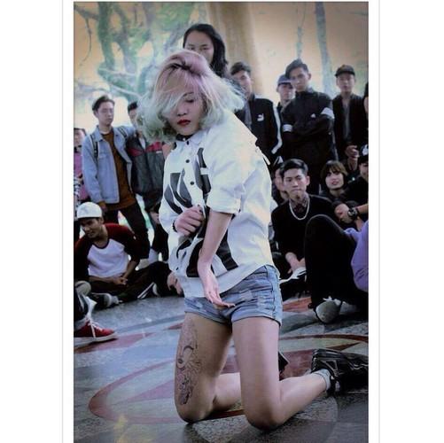 Nu dancer 9X Hai Phong xinh dep va phong cach cuc