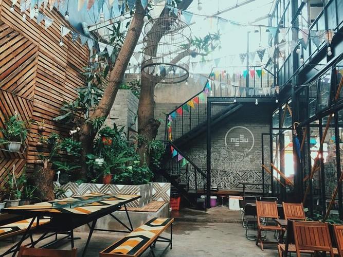 Ngau Coffee: Dia diem check-in day thu vi cua gioi tre thanh Vinh