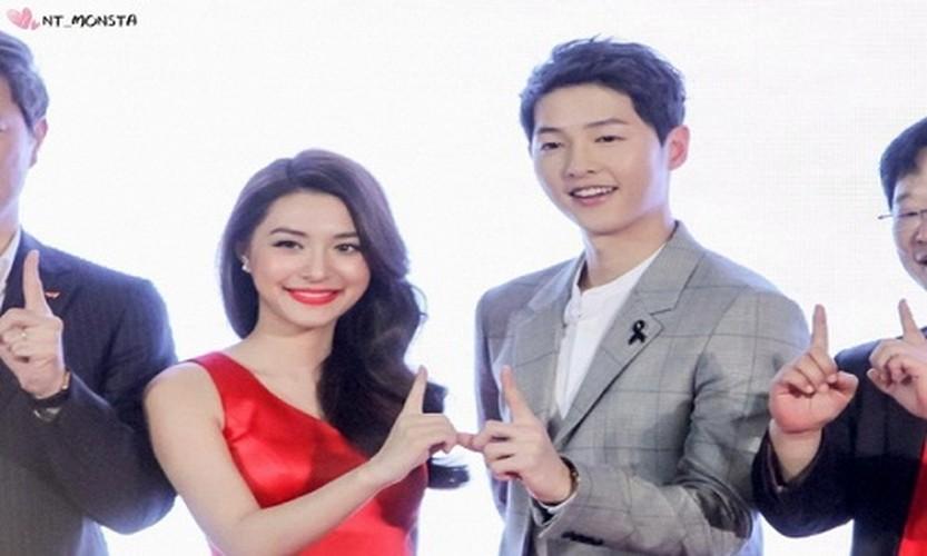 Bo Song Hye Kyo o Han, Song Joong Ki sang Thai gap my nhan