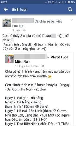 Co gai phuot SG - HN trong 40h dap tra du luan the nao?-Hinh-3