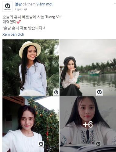 Danh tinh co gai Viet duoc dan mang Han Quoc ngoi khen-Hinh-2
