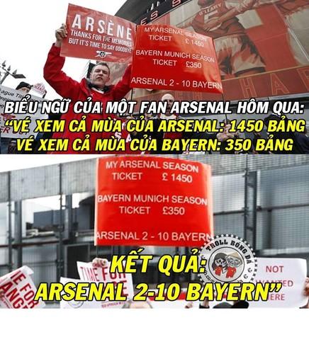 Anh che bong da: Arsenal hoa Kong truoc doi bong nho-Hinh-3