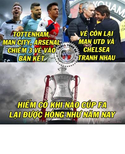 Anh che bong da: Arsenal hoa Kong truoc doi bong nho