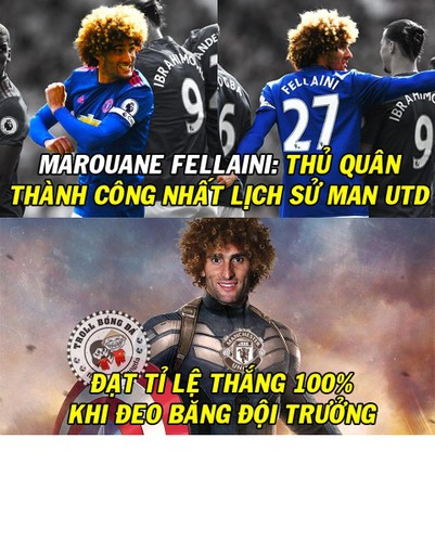 Anh che bong da: Fellaini - doi truong thanh cong nhat MU