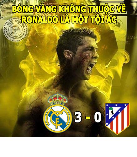 Anh che bong da: Ronaldo sinh ra la de chinh phuc cup C1?