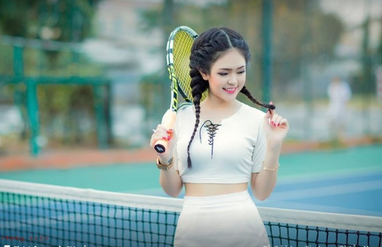 Co gai Phu Yen xinh dep khien dan mang me man