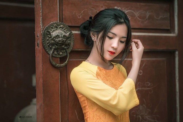 Nhan sac dep tua trang ram cua nu sinh Hai Duong-Hinh-2