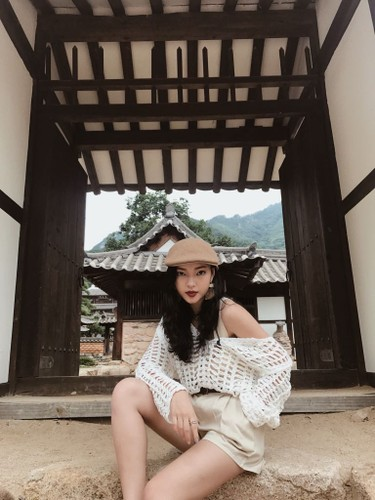 Hot girl Chau Bui lam dai su du lich Han Quoc-Hinh-4
