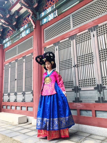 Hot girl Chau Bui lam dai su du lich Han Quoc-Hinh-5