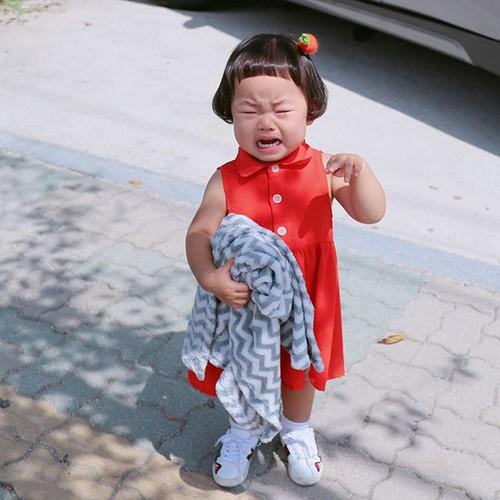 """Be gai Han Quoc noi tieng voi mai toc """"gao dua""""-Hinh-10"""