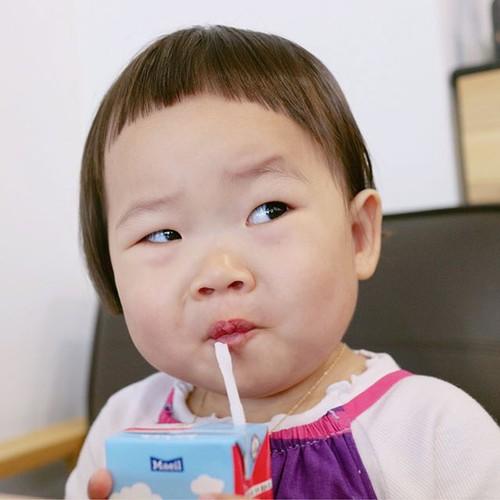"""Be gai Han Quoc noi tieng voi mai toc """"gao dua""""-Hinh-3"""
