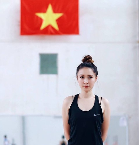 HLV the duc nghe thuat Viet cuc xinh tai SEA Games