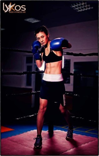 Hot girl Boxing Viet toa sang tai SEA Games-Hinh-2