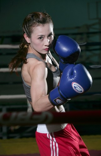 Hot girl Boxing Viet toa sang tai SEA Games-Hinh-3