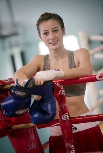 Hot girl Boxing Viet toa sang tai SEA Games-Hinh-4