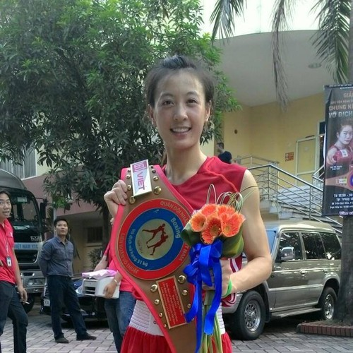 Hot girl Boxing Viet toa sang tai SEA Games-Hinh-6