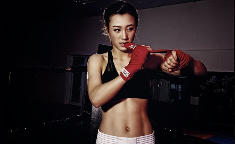 Hot girl Boxing Viet toa sang tai SEA Games