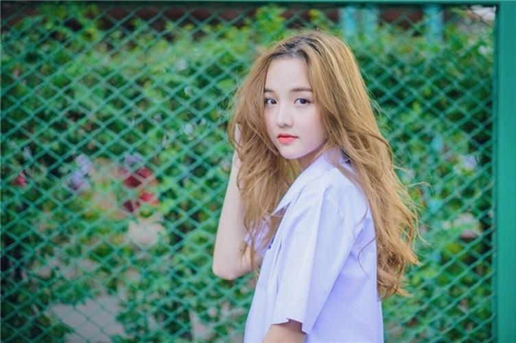Tan chay truoc ve dep ngot ngao cua hot girl Thai Lan-Hinh-2