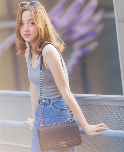Tan chay truoc ve dep ngot ngao cua hot girl Thai Lan-Hinh-9